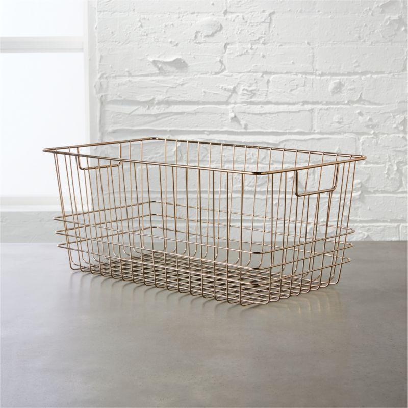 Wire Baskets | CB2