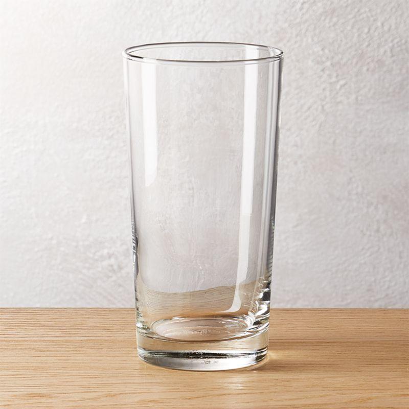 Brisk Tall Cooler Glass Reviews Cb2