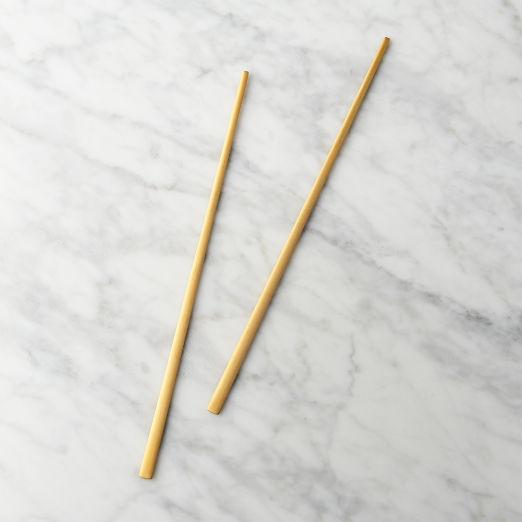 Brushed Gold Chopsticks
