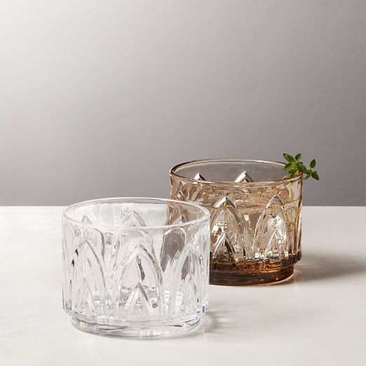 Buchanan Stacking Double Old-Fashioned Glasses