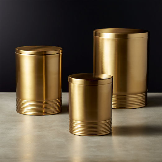 Bulletproof Gold Canisters