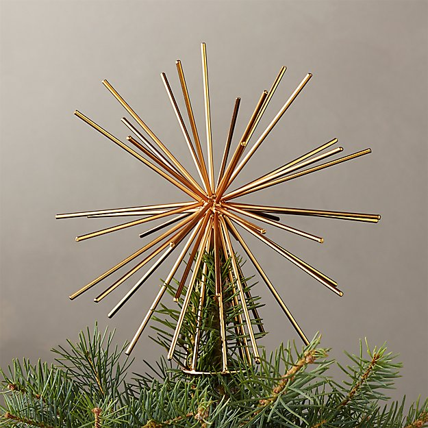 Burst Gold Tree Topper - Image 1 of 6