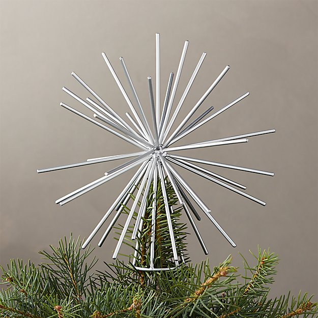 Burst Silver Tree Topper - Image 1 of 3