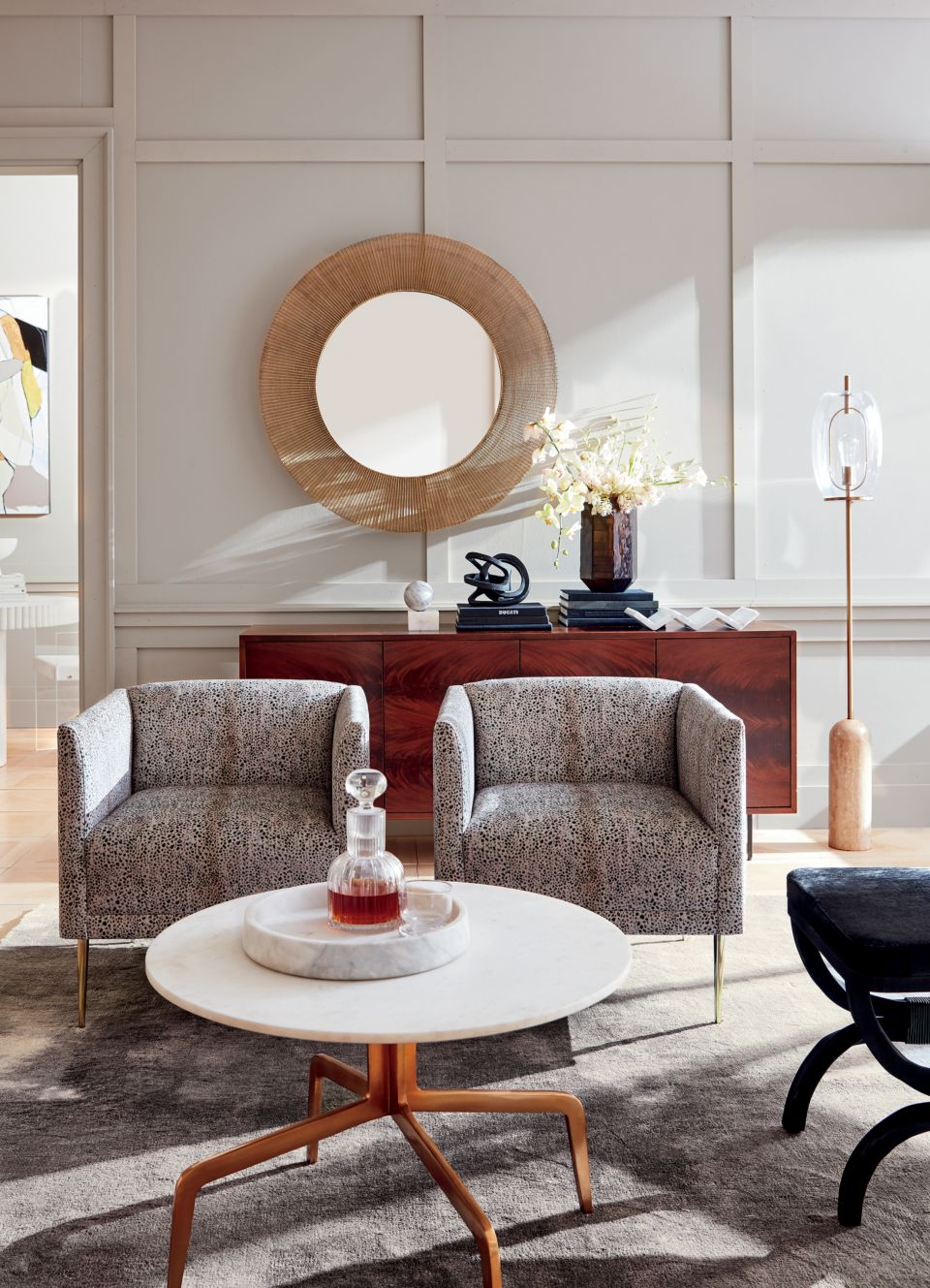 To see all of Michele Varian's current designs for CB2