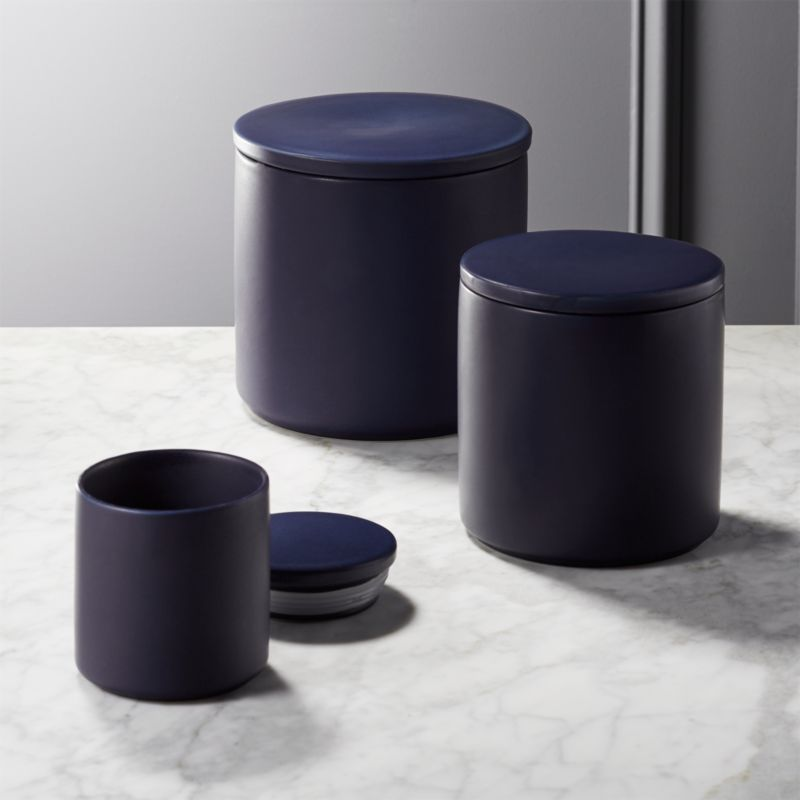 contemporary kitchen canisters modern kitchen canisters cb2 11119