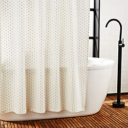 Calabria Dot Shower Curtain