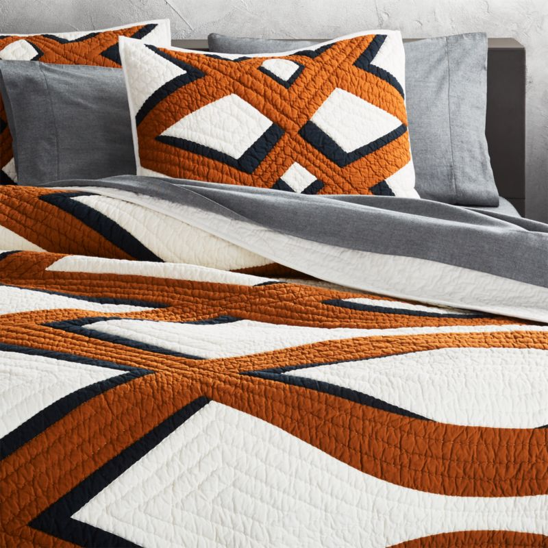 Full And Queen Size Quilts Cb2