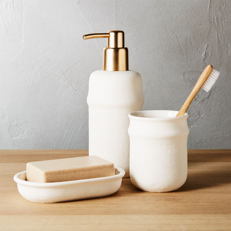 Canvas Bath Accessories | CB2