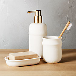 canvas bath accessories - Bathroom Accessories