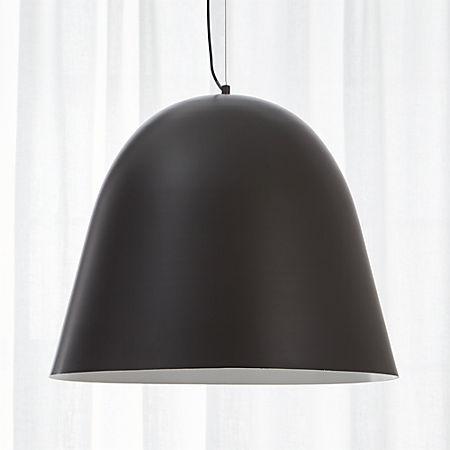 Capitol Large Carbon Bell Pendant Light