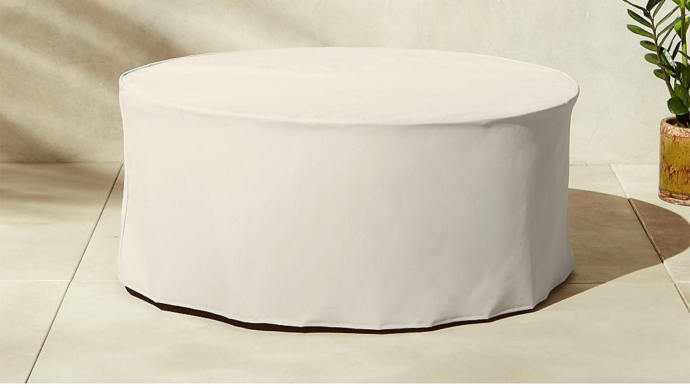 Capiz Waterproof Coffee Table Cover - Image 1 of 3