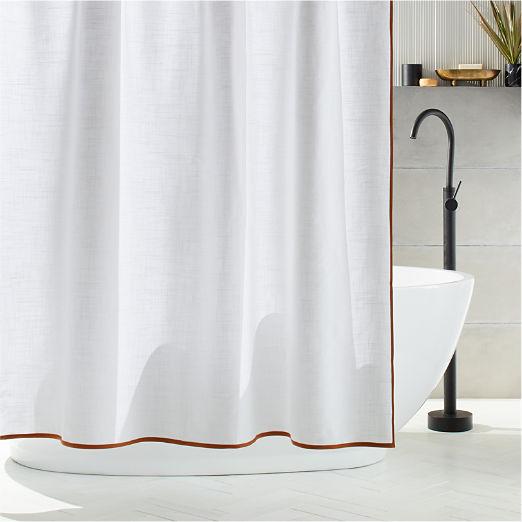 Capri Copper Shower Curtain