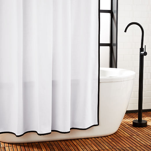 Capri Border Shower Curtain