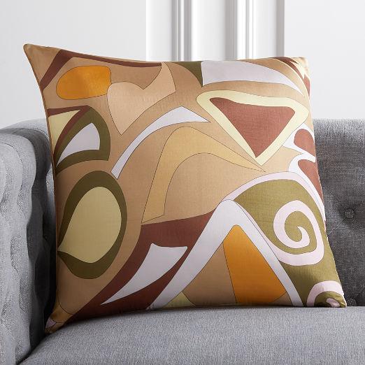 "20"" Capri Silk Pillow"