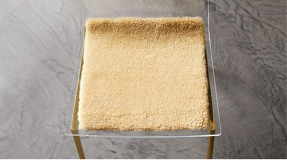Carmel Sheepskin Chair Pad - Image 1 of 2