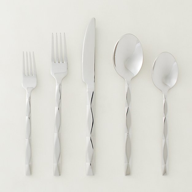 20-Piece Carter Shiny Stainless Steel Flatware Set - Image 1 of 2