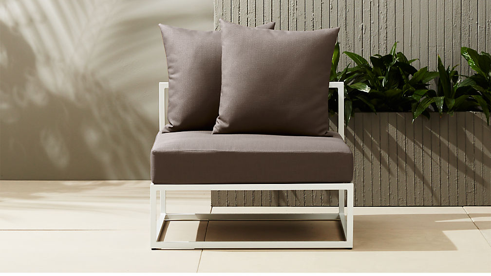 - Casbah Modular Armless Chair + Reviews CB2
