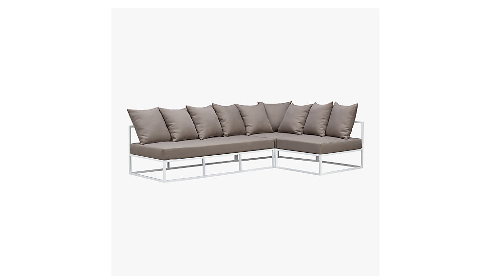 casbah outdoor loveseat + Reviews | CB2