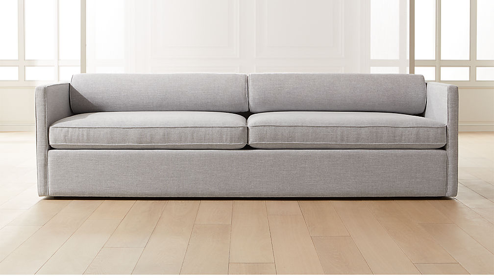 Cassidy Bolster Back Dove Sofa - Image 1 of 6