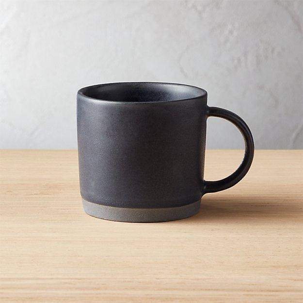 Cast Reactive Glaze Black Espresso Cup - Image 1 of 2