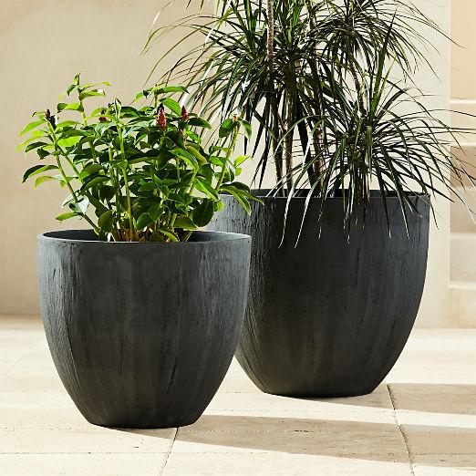 Castino Charcoal Planters