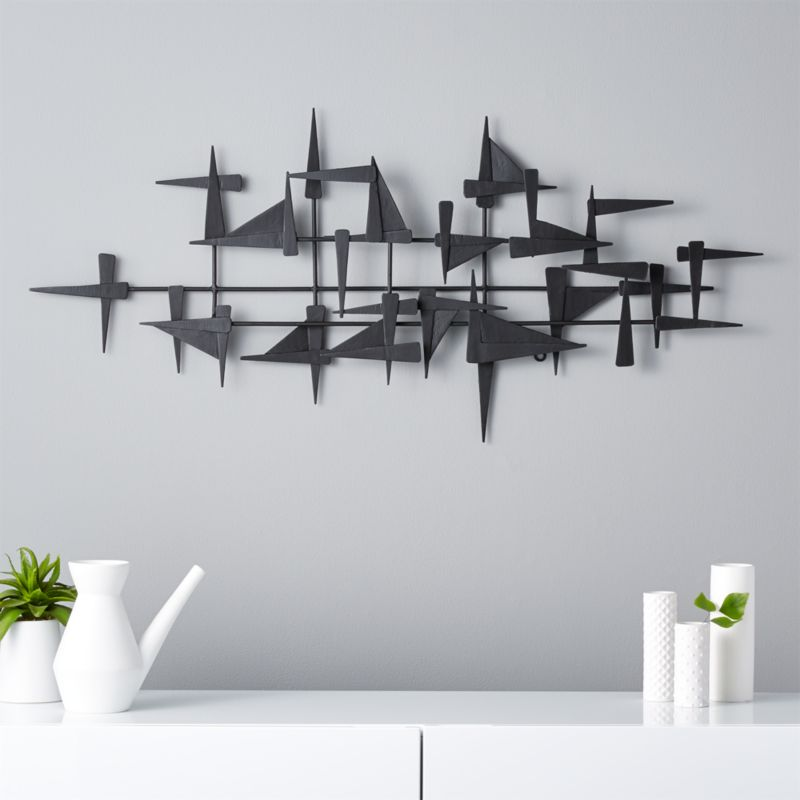 Castile Metal Wall Decor Reviews Cb2
