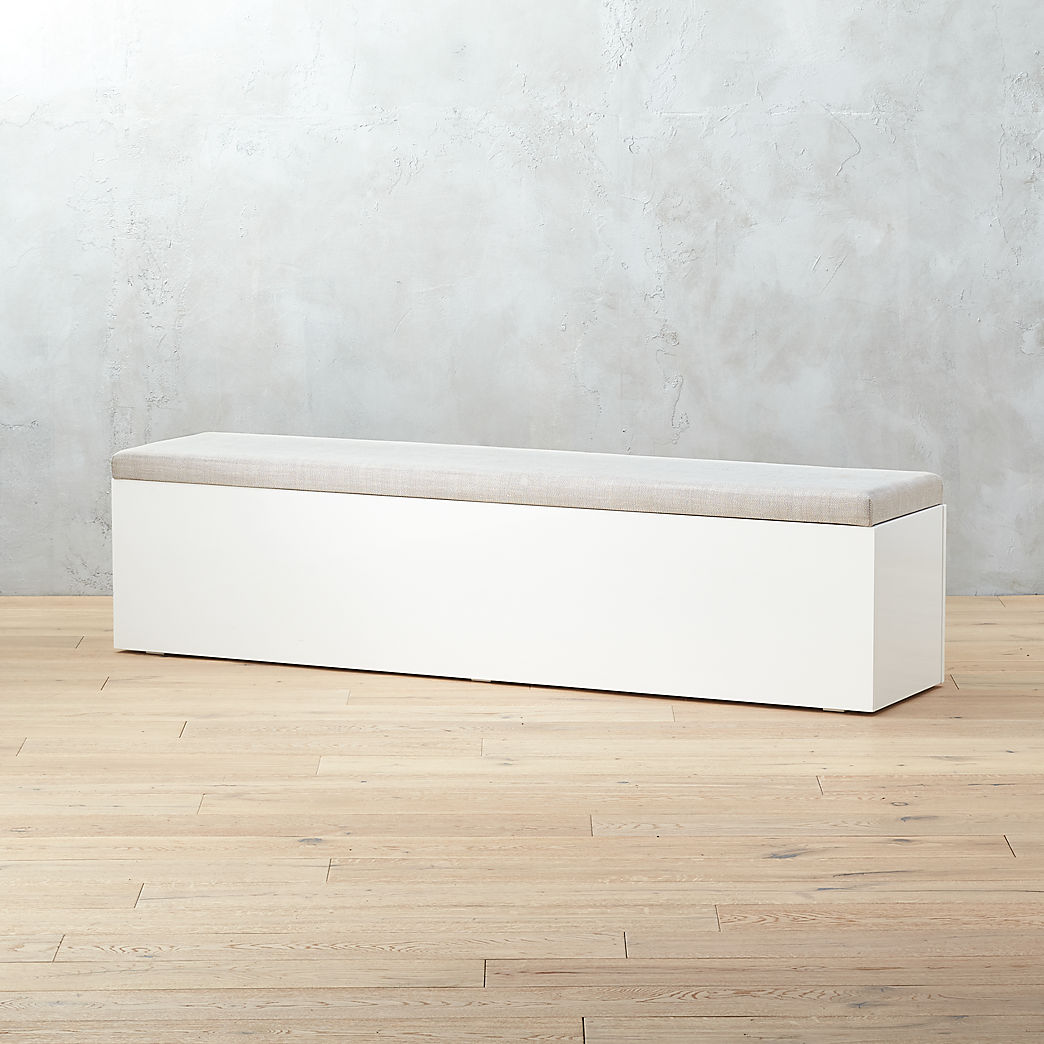 Attrayant Modern Storage Benches And Dining Benches | CB2