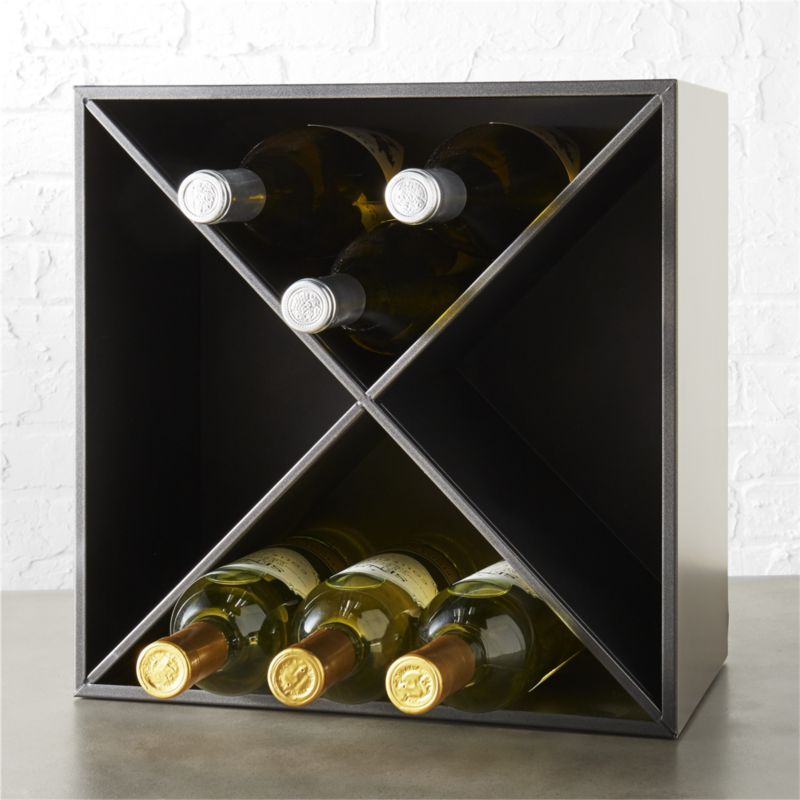 Cellar 12 Bottle Wine Rack Reviews Cb2