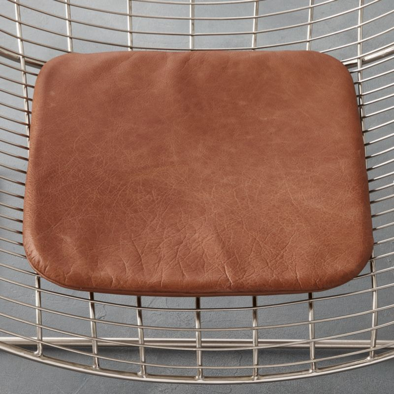 Brown Leather Chair Cushion Reviews Cb2