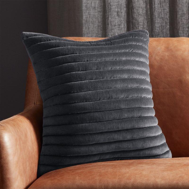 Lovely Velvet Pillows | CB2 QH26