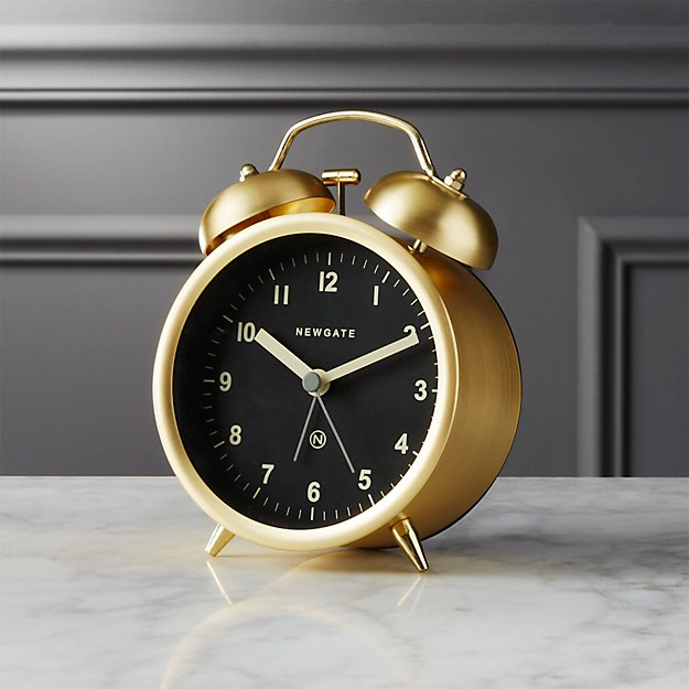 Charlie Gold Alarm Clock Reviews Cb2