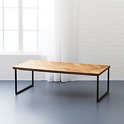 Modern Coffee Tables CB - Cb2 slab marble coffee table