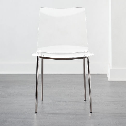 Acrylic Chairs Cb2