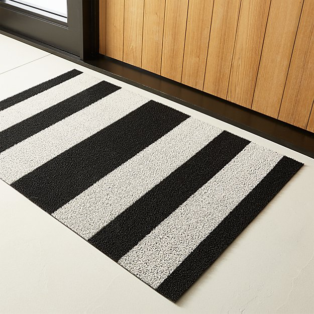 Chilewich ® Black and White Utility Mat - Image 1 of 5