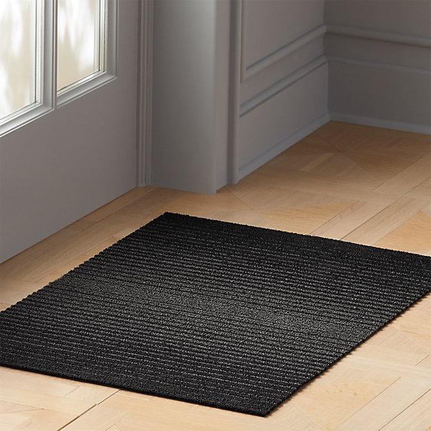 Chilewich ® Black Ombre Shag Mats - Image 1 of 5