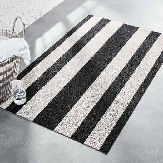 Chilewich ® Black and White Mat