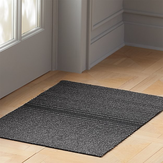 Chilewich ® Grey Ombre Shag Mats - Image 1 of 5