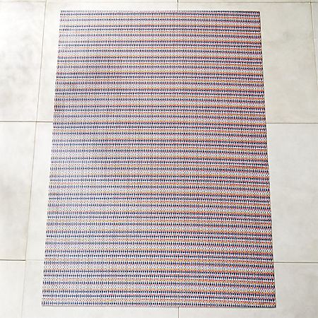 Chilewich Heddle Multicolor Outdoor Rug