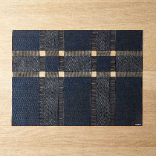 Chilewich ® Interlace Sapphire Placemat