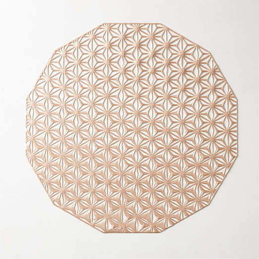 Chilewich ® Pink Champagne Kaleidscope Placemat