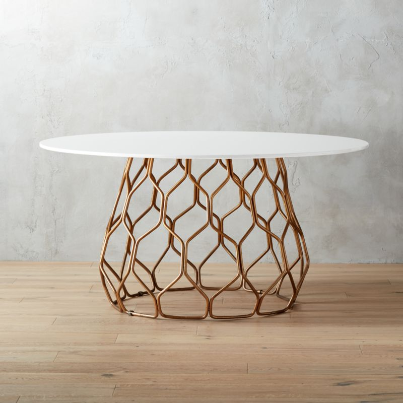 Round Dining Tables Cb2