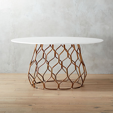 Circuit Dining Table Reviews Cb2
