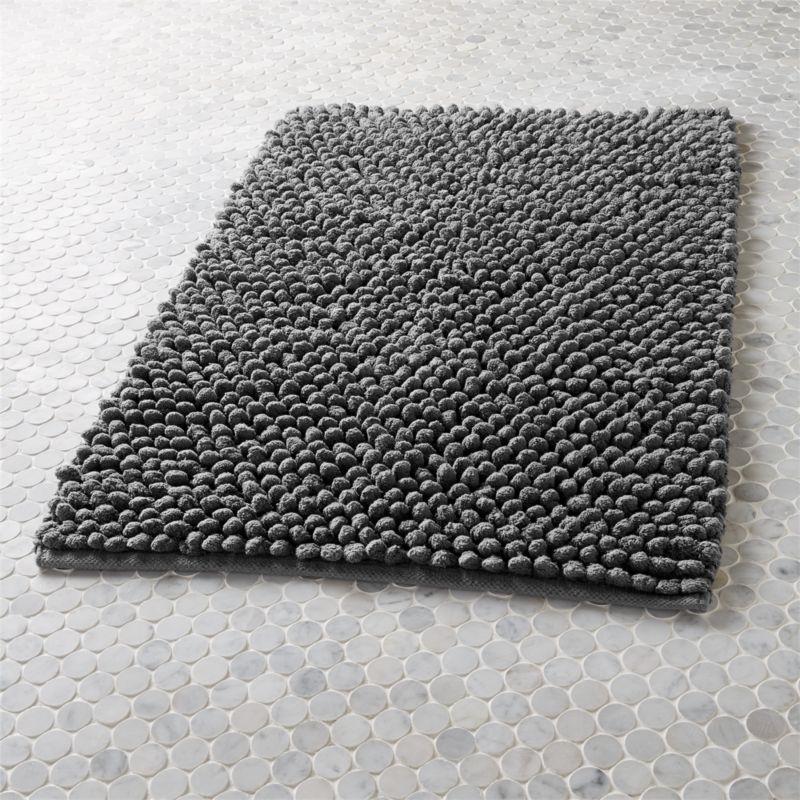 Cirrus Grey Bath Mat