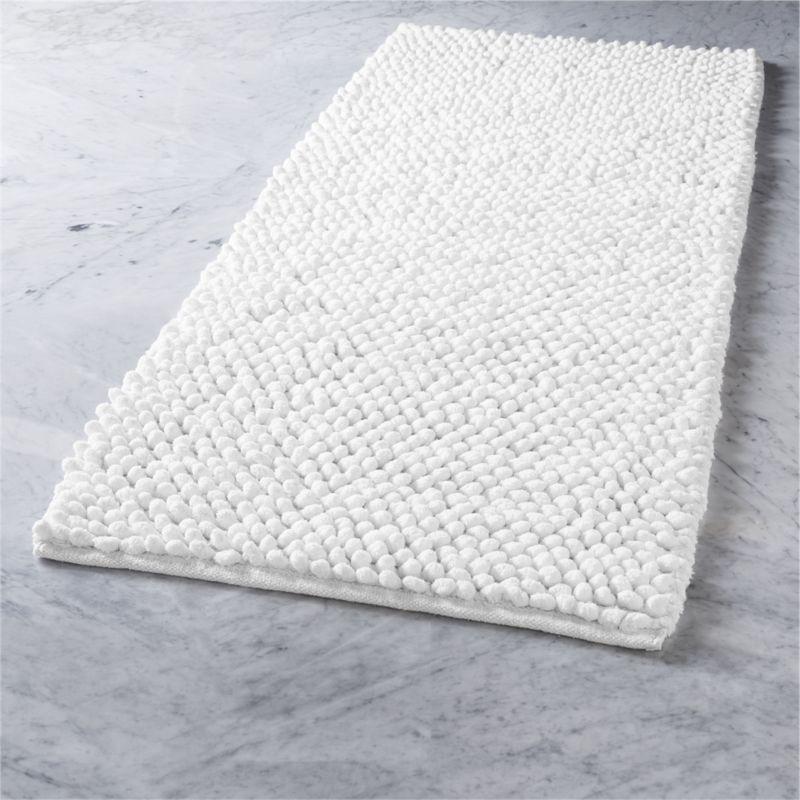 Grey And White Bath Mat Home Ideas