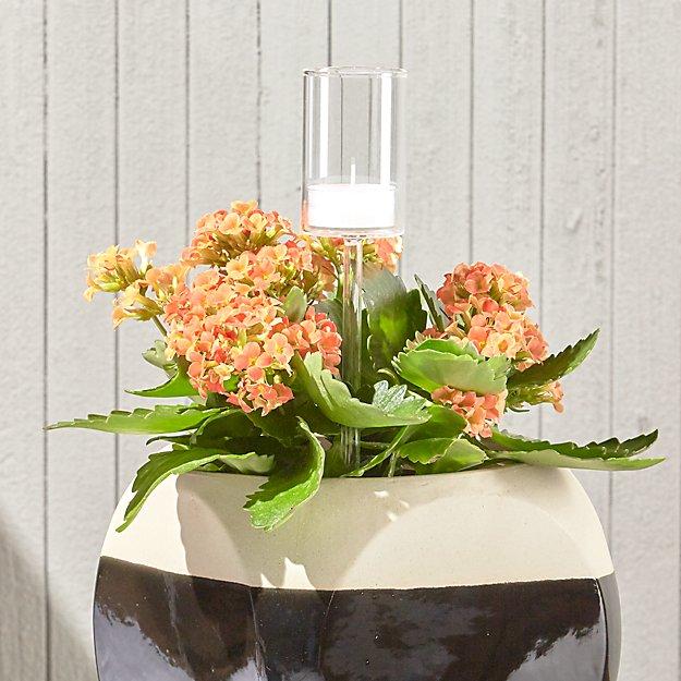 Garden Stake Tea Light Candle Holder - Image 1 of 5