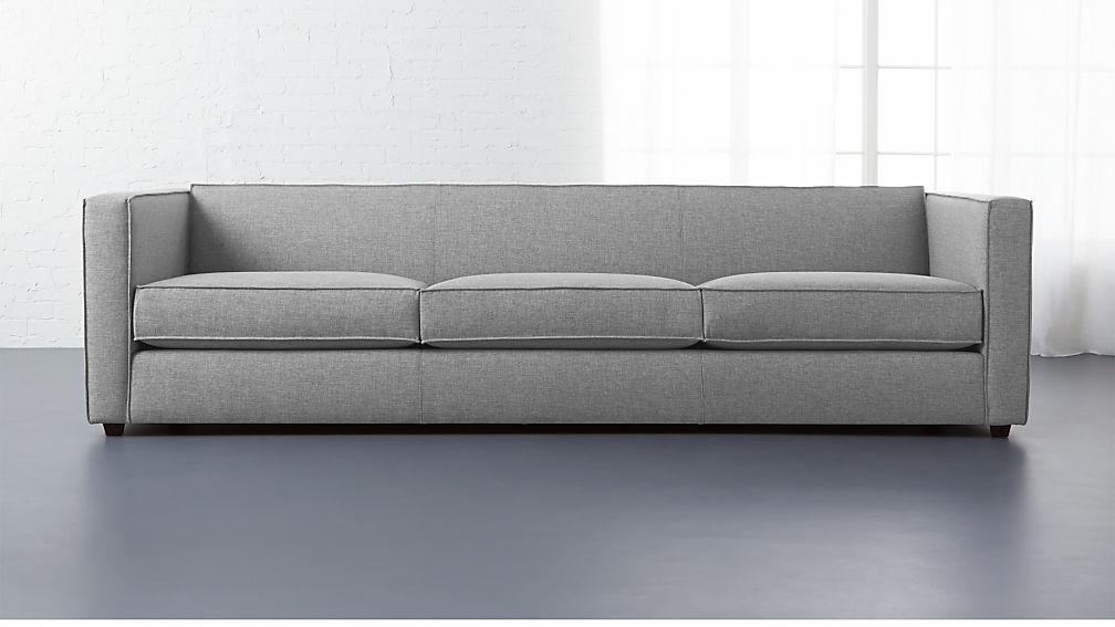 Merveilleux Club 3 Seater Sofa + Reviews | CB2