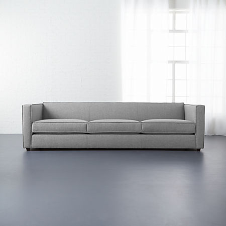 Club 3-Seater Sofa + Reviews | CB2