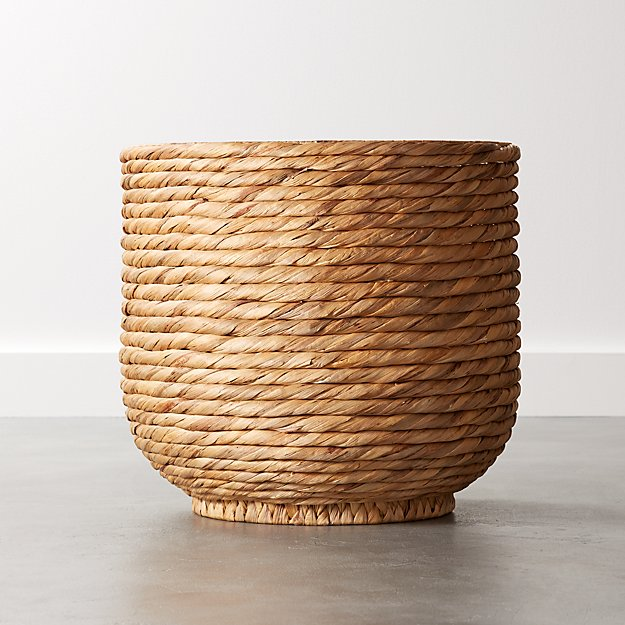 Coil Natural Palm Basket - Image 1 of 6