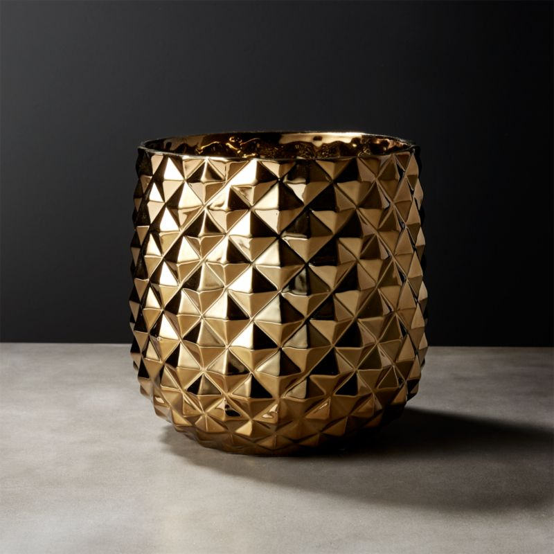 Gold Vases Cb2