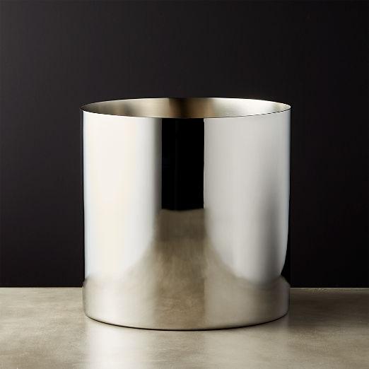 Column Stainless Steel Champagne-Wine Bucket